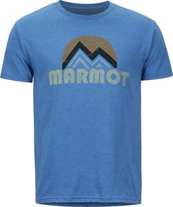T-shirt Marmot ze skóry ekologicznej