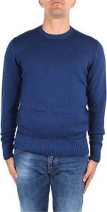 Niebieski sweter Drumohr