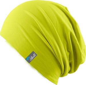 Zielona czapka Chillouts z bawełny w stylu casual