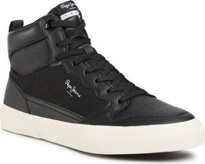 Pepe Jeans Sneakersy Kenton Boot PMS30695 Czarny
