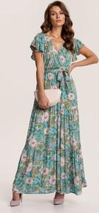 Zielona sukienka Renee trapezowa