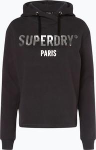 Brązowa bluza Superdry w sportowym stylu
