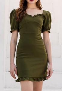 Sukienka Justmelove mini z krótkim rękawem