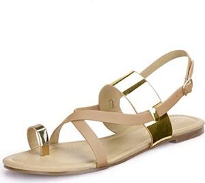Sandały Allegra K z klamrami