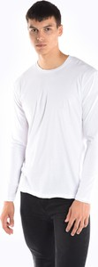 Koszulka z długim rękawem Gate z długim rękawem z bawełny