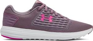 Różowe buty sportowe Under Armour sznurowane