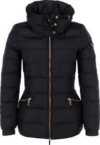 Czarna kurtka EA7 Emporio Armani w stylu casual krótka