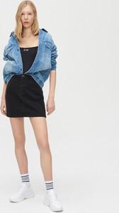Czarna spódnica Cropp mini
