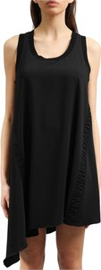 Czarna sukienka Iceberg w stylu casual mini na ramiączkach