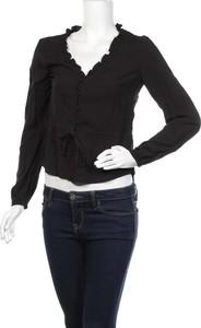 Czarna koszula H&M w stylu casual