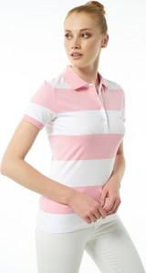 Różowy t-shirt Auden Cavill