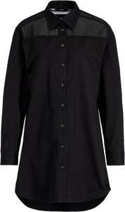 Czarna sukienka Diesel w stylu casual oversize
