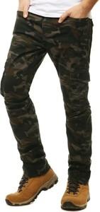 Zielone spodnie Dstreet z bawełny