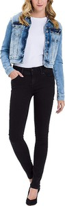 Czarne jeansy Cross Jeans w stylu casual