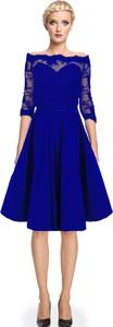 Sukienka Camill Fashion hiszpanka rozkloszowana