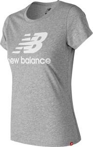 Bluzka New Balance z nadrukiem