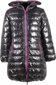 Czarna kurtka dziecięca Duvetica dla dziewczynek