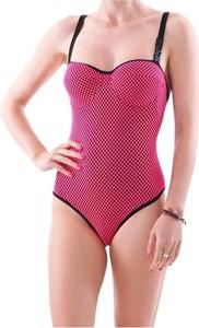Różowy strój kąpielowy Moschino w stylu casual