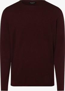 Czerwony sweter Selected w stylu casual