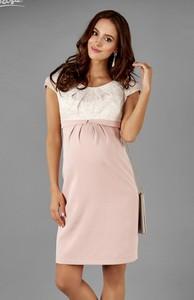 Elpasa Pastelowa Sukienka ciążowa Salma