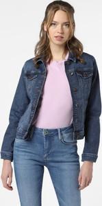 Niebieska kurtka More & More z jeansu w stylu casual