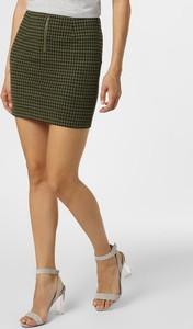 Zielona spódnica Noisy May mini w stylu casual