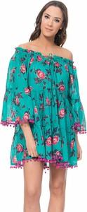 Sukienka Tantra z długim rękawem dla puszystych