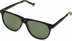 amazon.de Hackett Bespoke męskie okulary przeciwsłoneczne Bespoke brązowe (Tortoise/Green) 57.0