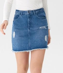 Niebieska spódnica House mini