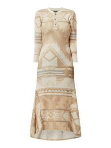 Sukienka POLO RALPH LAUREN z długim rękawem z bawełny