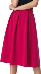 Różowa spódnica Nife midi