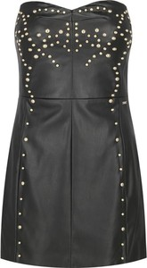 Czarna sukienka Armani Jeans gorsetowa mini