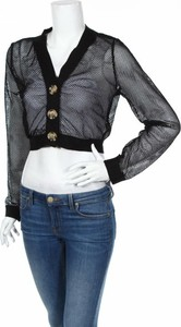 Czarny sweter Miss Valley w stylu casual