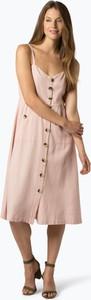 Różowa sukienka Vila midi