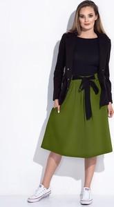 Zielona spódnica Bien Fashion z dresówki