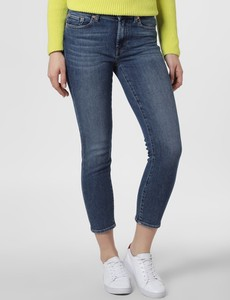Niebieskie jeansy 7 for all mankind w stylu casual