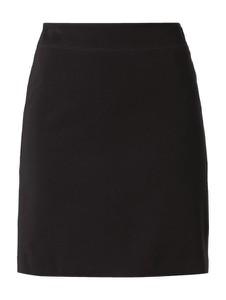 Czarna spódnica Montego midi z dżerseju