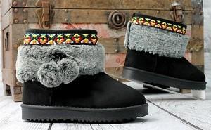 3493272e51712 ciepłe buty zimowe - stylowo i modnie z Allani