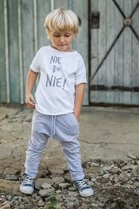 Koszulka dziecięca M-art-a-baby z bawełny