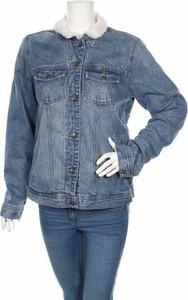 Niebieska kurtka Roxy w stylu casual krótka