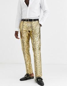 Złote spodnie Twisted Tailor