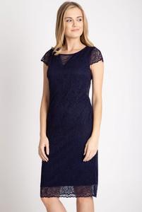 Sukienka QUIOSQUE z krótkim rękawem z okrągłym dekoltem