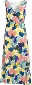 Sukienka Multu maxi bez rękawów z dekoltem w kształcie litery v