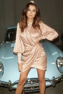 Sukienka LOU mini z długim rękawem