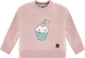 Różowa bluza dziecięca Mintini z tiulu dla dziewczynek