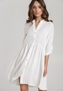Sukienka Renee w stylu casual z dekoltem w kształcie litery v