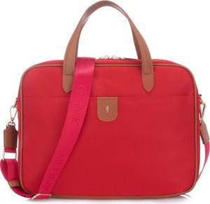 Czerwona torebka Ochnik