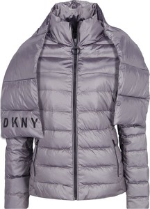 Fioletowa kurtka Dkny Sport w stylu casual
