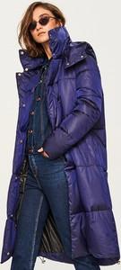 Niebieski płaszcz Reserved w stylu casual