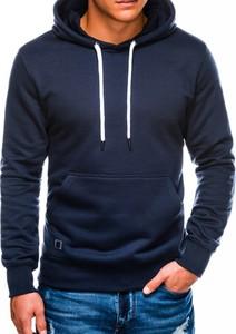 Granatowa bluza Ombre